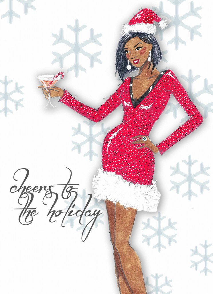 Cheers to the Holiday! by Veronica Marché
