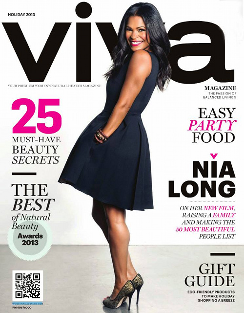 Nia Long in Viva Magazine